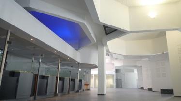 Recomposition du grand hall du SIP