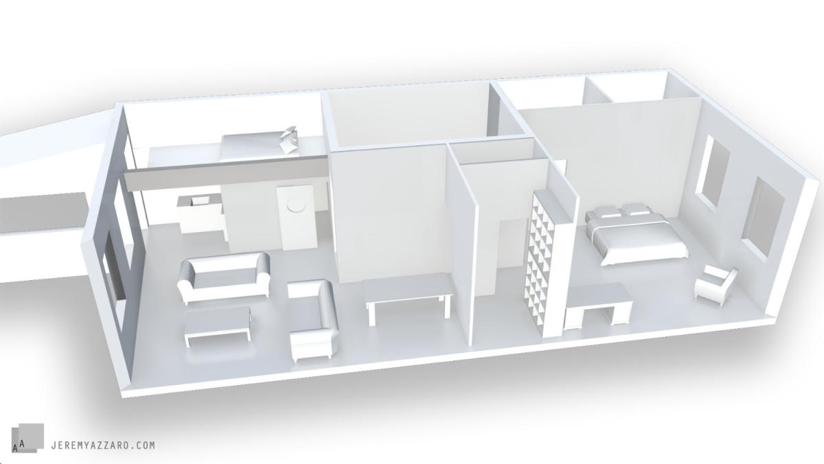 amenagement-interieur.architecture.maquette.azzaroarchjitecte