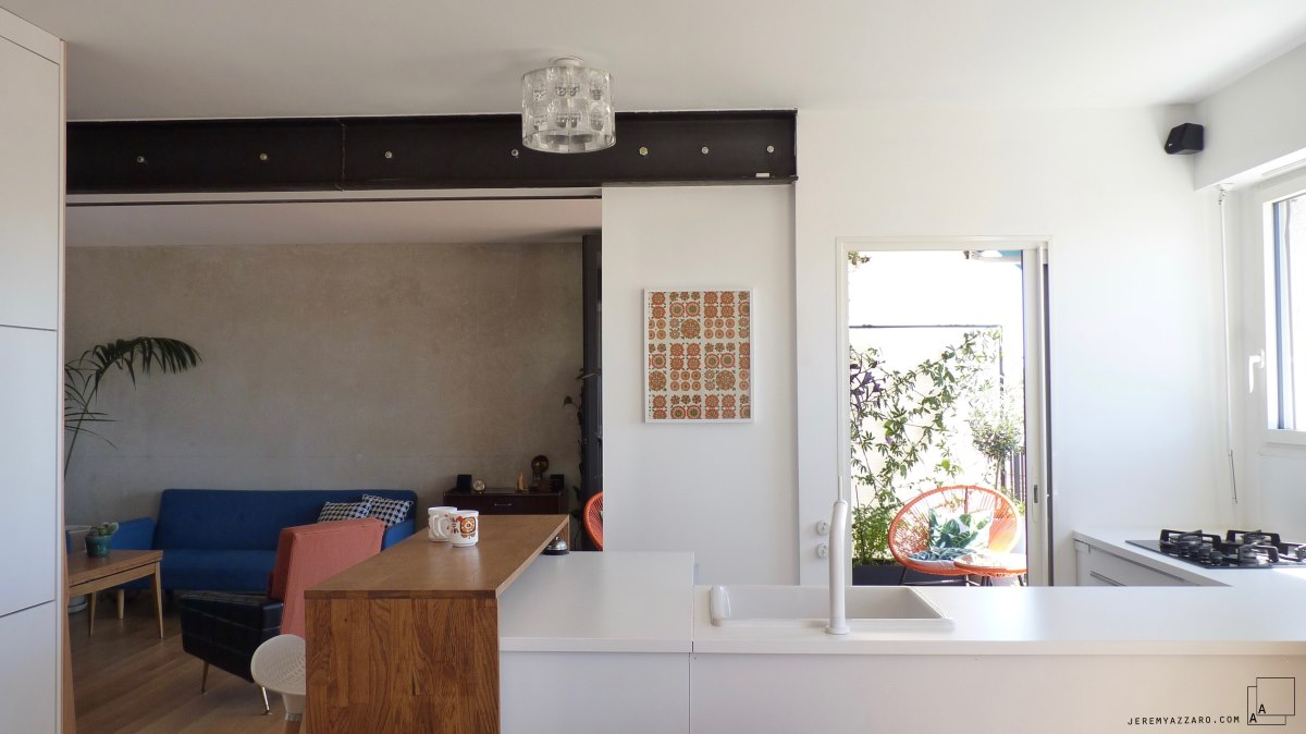 beton-poutre-acier-annee70-appartement-architecte-transformation-renovation-jeremy-azzaro