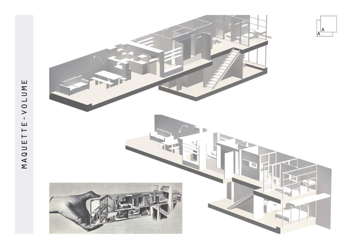 cellule-corbusier-maquette-transformation-azzaro-architecte