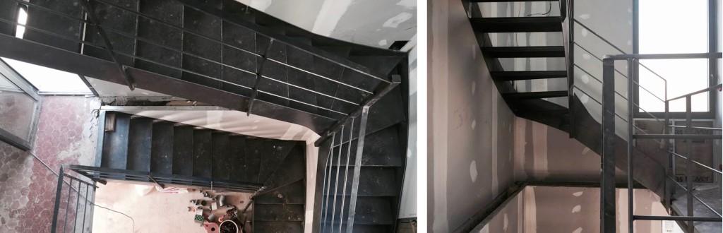 Chantier : Recomposition d'une maison individuelle de ville sur 3 niveaux