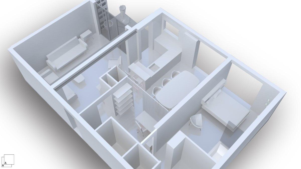 maquette-arcchitecte-renovaation-appartement-1970-marseille-azzaro