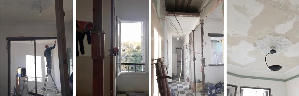 Chantier : Transformation et rénovation d'un appartement bourgeois