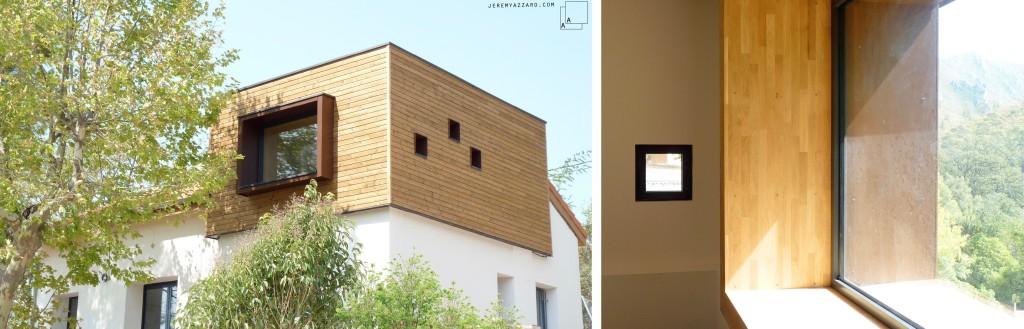 Réalisation : Rénovation et extension bois d'une maison marseillaise