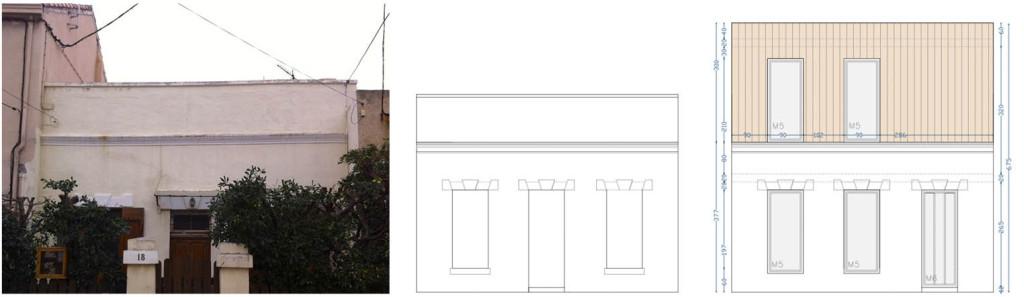 Étude de faisabilité : surélévation en ossature bois d'une maison de ville marseillaise