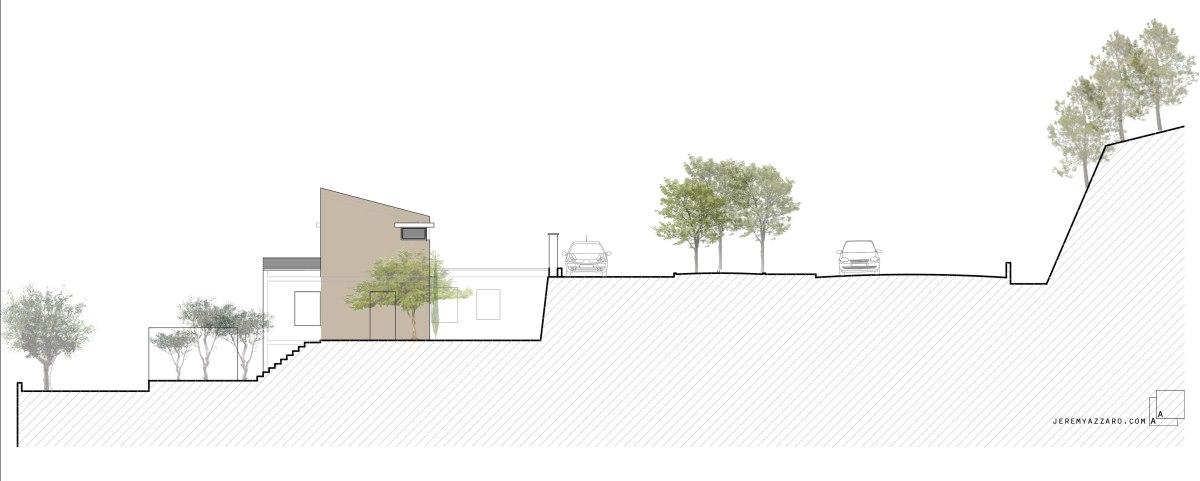 surelevation-extension-maison-coupe-paysage-jeremy-azzaro-architecte