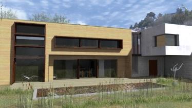 Conception maison contemporaine, «le vaisseau Atelier»