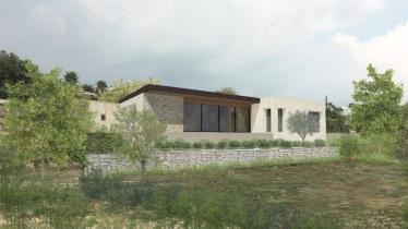 Maison contemporaine «la restanque»
