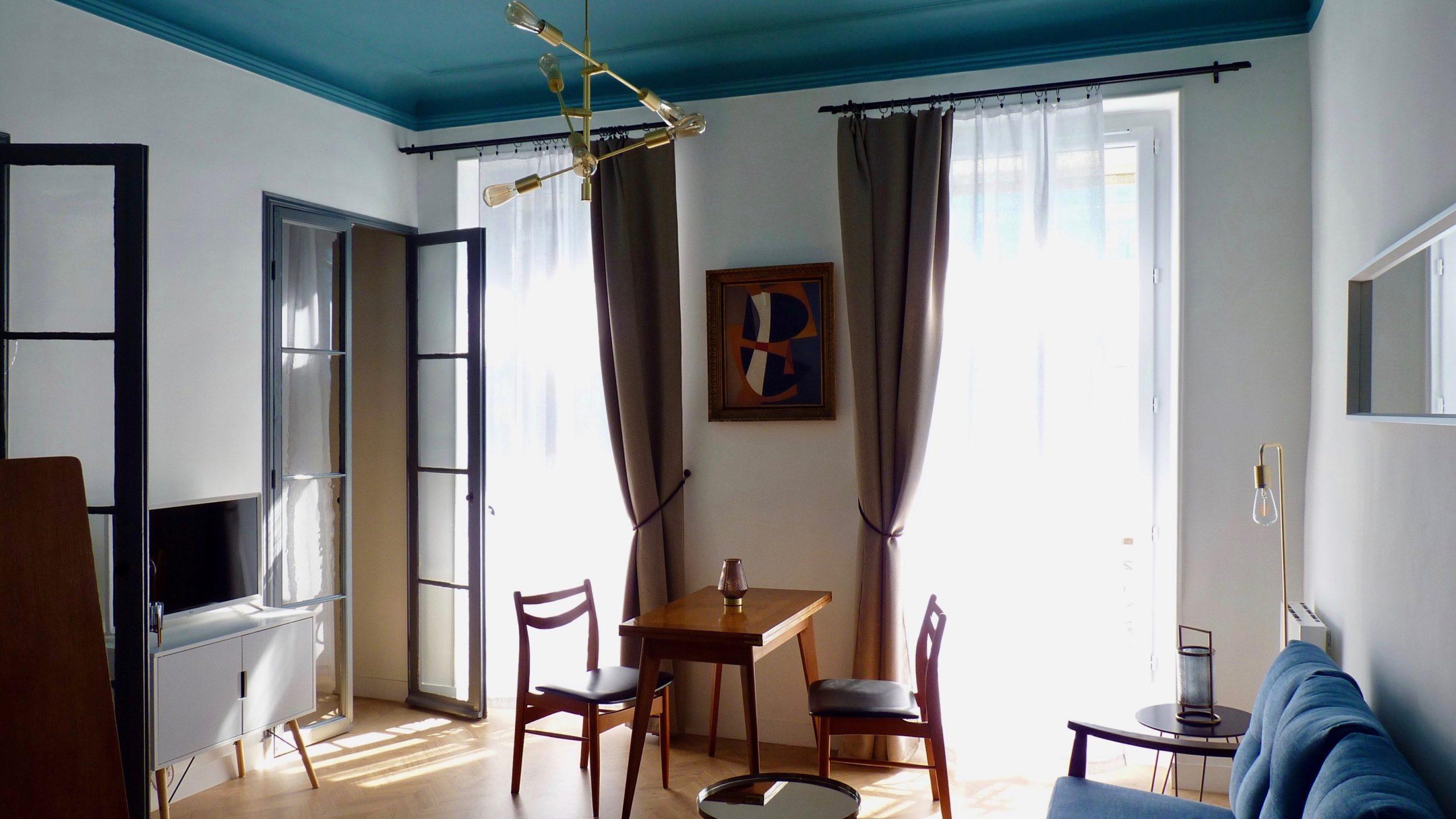 Création de deux appartements «angle deux vies»