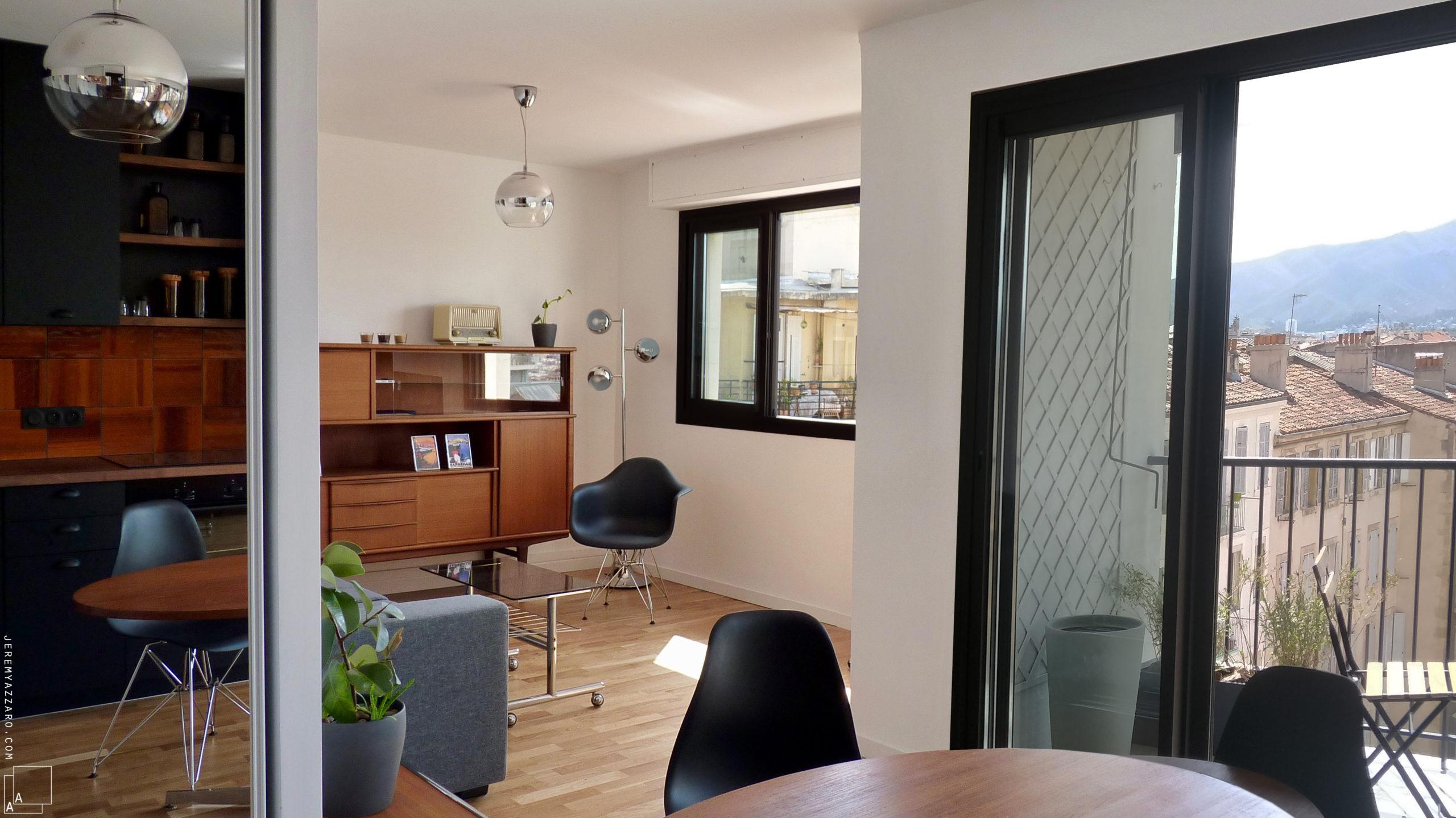 Transformation par division d'un appartement «en enfilade»